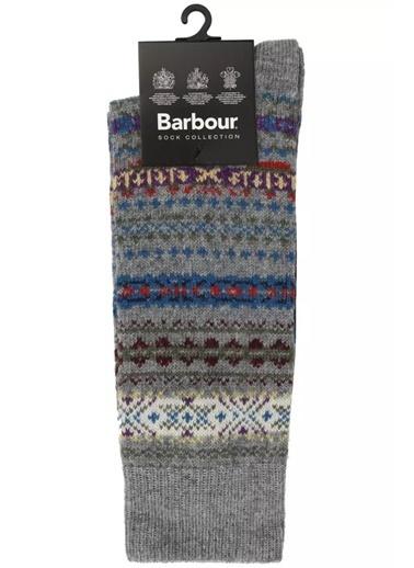 Barbour Boyd Çorap Gy31 Grey Gri